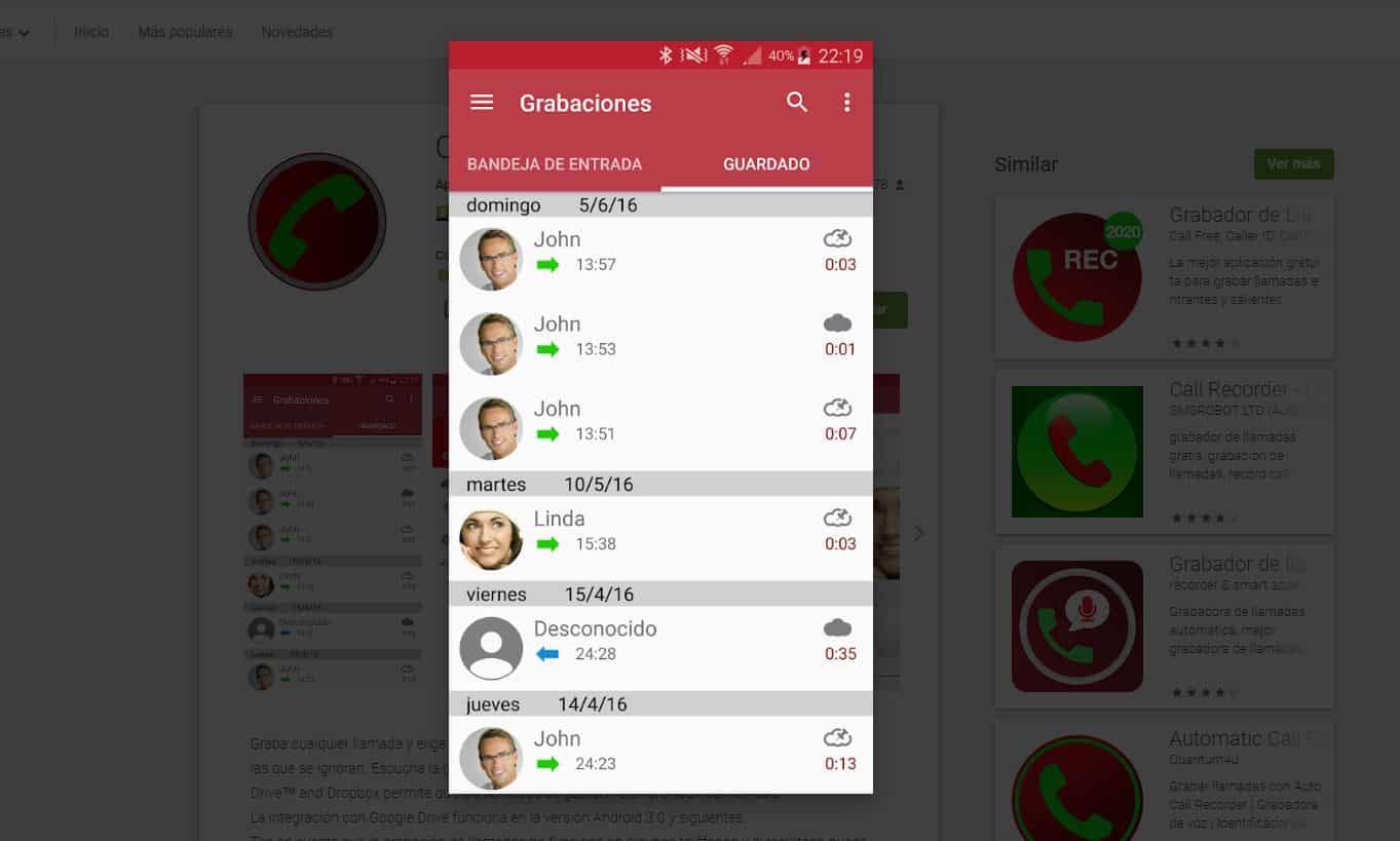 Cómo grabar una llamada en Android y en un iPhone