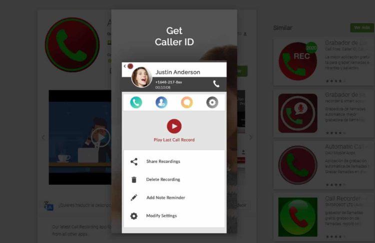 registro de conversaciones en android con Autotomatic Call Recorder