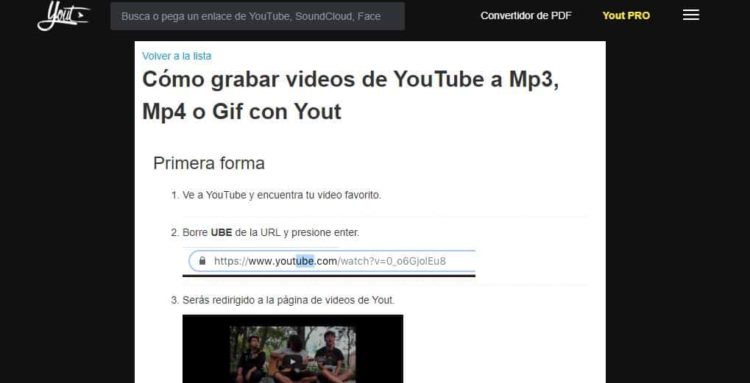 yout extraer audio de youtube