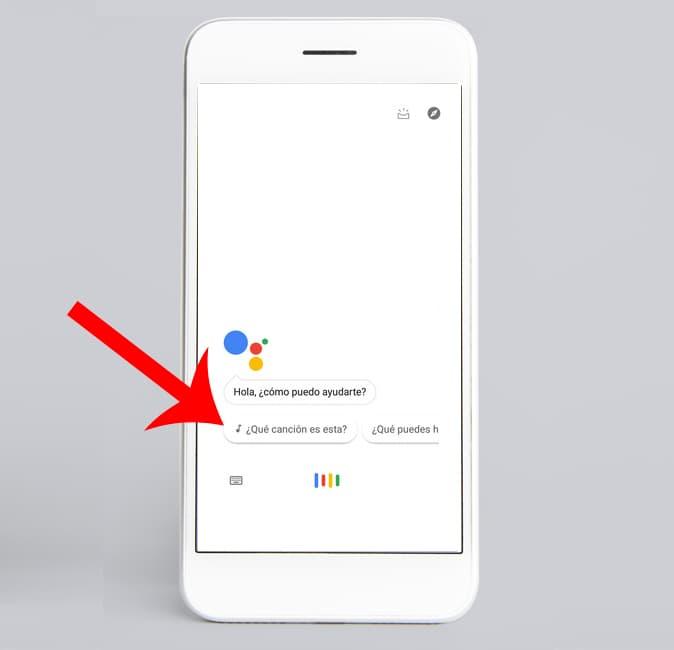 identificar canción con Google assistant