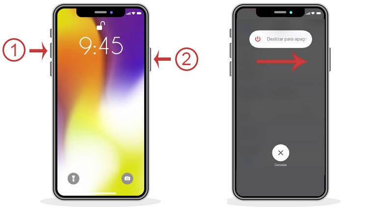 apagar iPhone 11 cuando responde