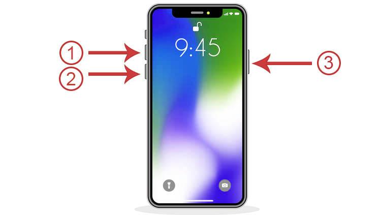 cómo apagar un iPhone 11 que no responde