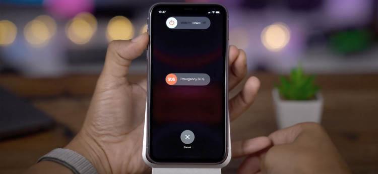 Cómo apagar el iPhone 11, incluso si no responde
