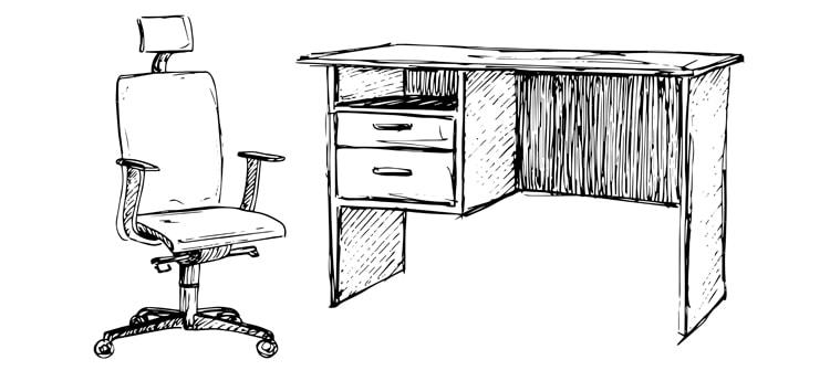 beneficios de una silla de oficina ergonómica