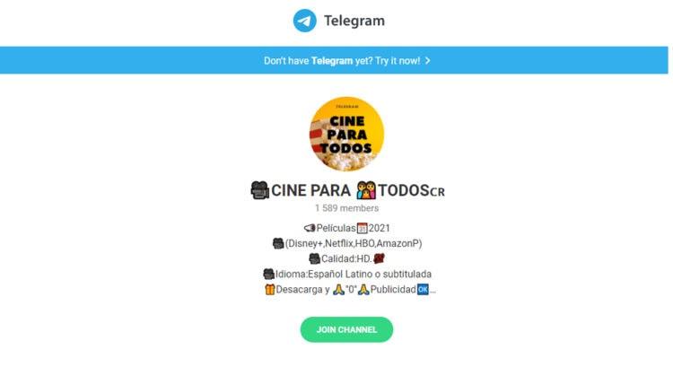 canales de Telegram sobre hbo
