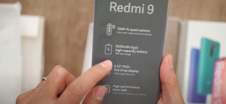 batería del teléfono redmi9