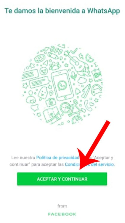 descargar WhatsApp desde apk en Android
